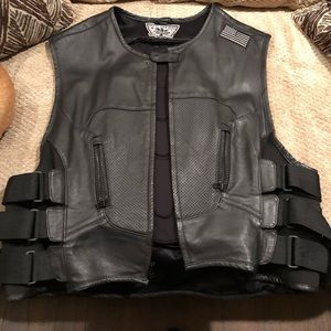 Icon Regulator Motorcycle Vest with Armor